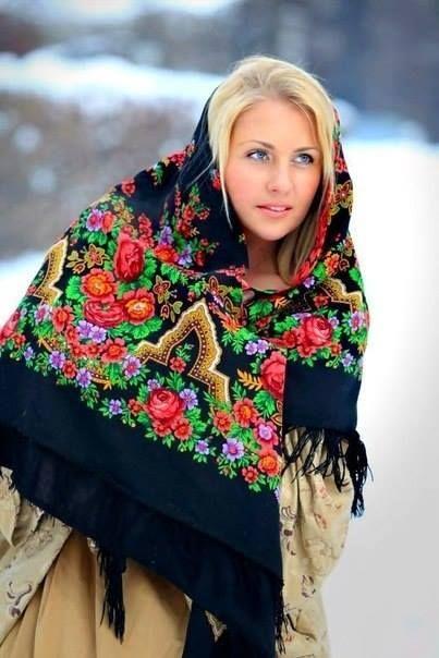 Tanjucha z Uralu. Krasívaja 19-ročná devočka.