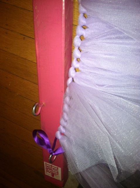 How to make a no-sew tutu! This is easy peasy. Your tutu material can be tied onto measured and sewn elastic banding as well.