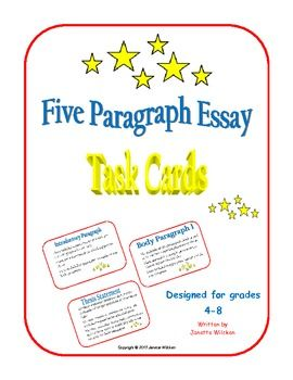 five paragraph essay webquest