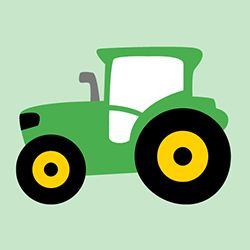 """Traktor-Kuschelkissen """"Tom"""" (Nähanleitung und Schnittmuster) - shesmile"""
