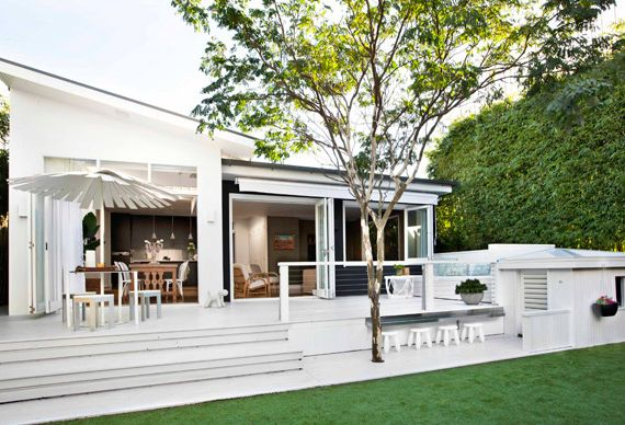A great exterior living space, Australian House & Garden