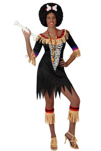 Zulu outfit voor dames bij Fun-en-Feest.nl. Online Afrikaanse kostuums bestellen, levering uit voorraad. Zulu outfit voor dames voor � 29.50.