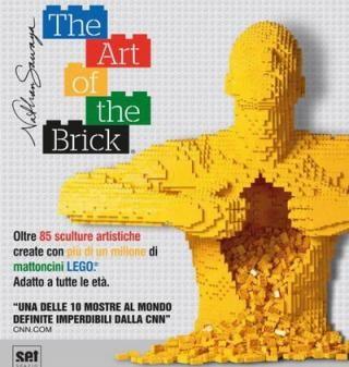 The Art of the Brick: sculture LEGO di Nathan Sawaya - SET -Mostre a Roma, visite guidate, eventi, mostre, monumenti, arte, biglietti, prenotazioni, mostre a roma, mostre roma, esposizioni
