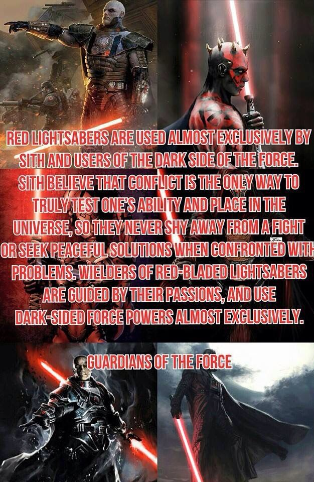 Lightsaber Crystal Guide Red
