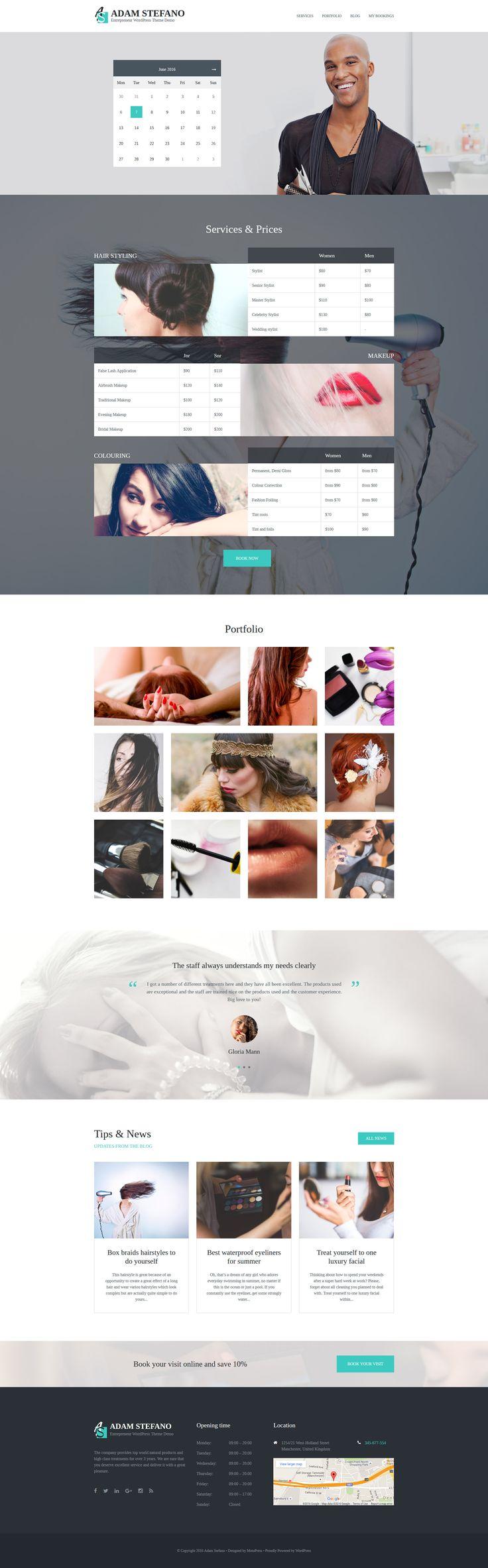 Mejores 269 imágenes de WordPress Themes en Pinterest   Plantilla ...