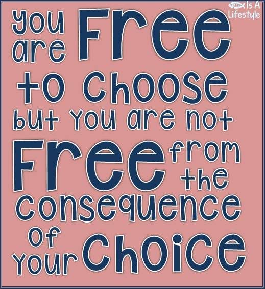 You are free to choose! facebook.com/donttakethemark