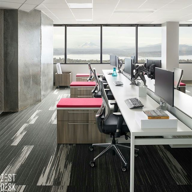 As Weu0027re Always On The Lookout For Office Design Inspirations, This Has Got  To Be One Of The Best Weu0027ve Seen. Simple, Yet Really Organized With  Individual ...