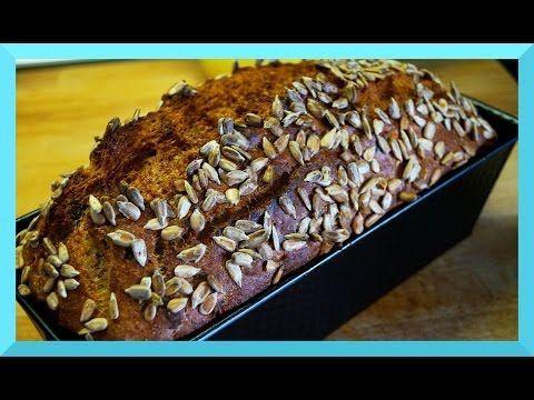 Dinkel Vollkornbrot backen - 5Minuten Brot Rezept - YouTube
