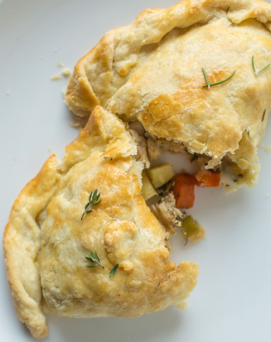 Chicken and Root Vegetable Pasties