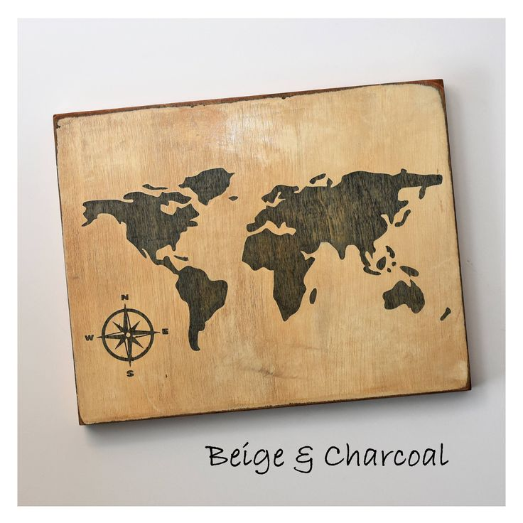 The 25 best world map on wood ideas on pinterest world map world map wall art wooden map stained wood global map housewarming gift gumiabroncs Image collections