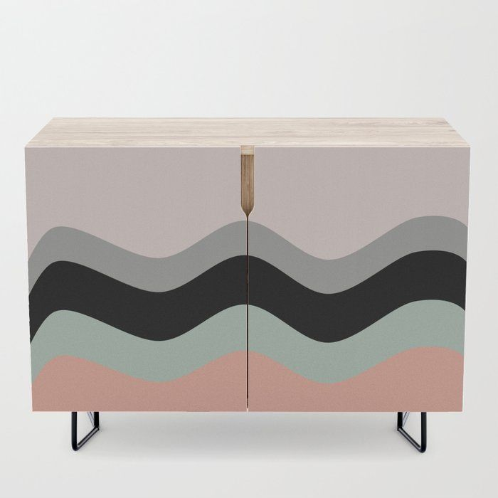 Pastel Nature Wave Mind Credenza Furniture Home Decor Society6 Society6 Furniture Tables Stool Be Credenza Furniture Home Decor Decorating Your Home