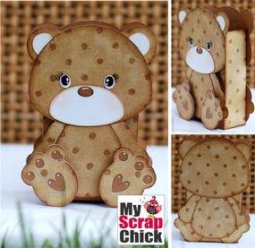 Sweet Bear Treat Bag: click to enlarge