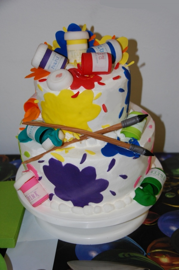 Art Attack Theme Cake : 1000+ images about pittore on Pinterest