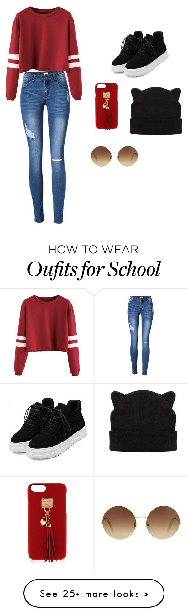 Cute Teen Girls School Outfits For Spring