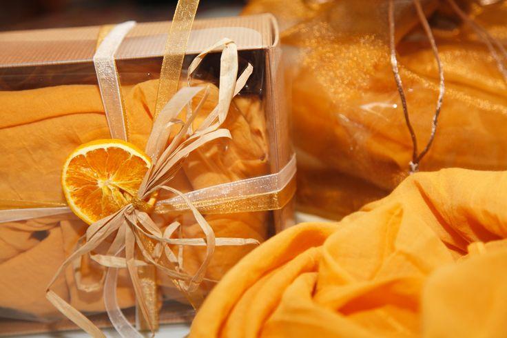 Sciarpa Texaroma profumata alla fragranza di vaniglia - Texaroma Scented Scarf with Vanilla's fragrance