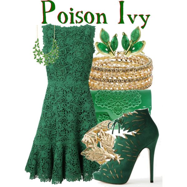 Poison Ivy from DC Comic Villians: Gotham City by ginger-coloured on Polyvore