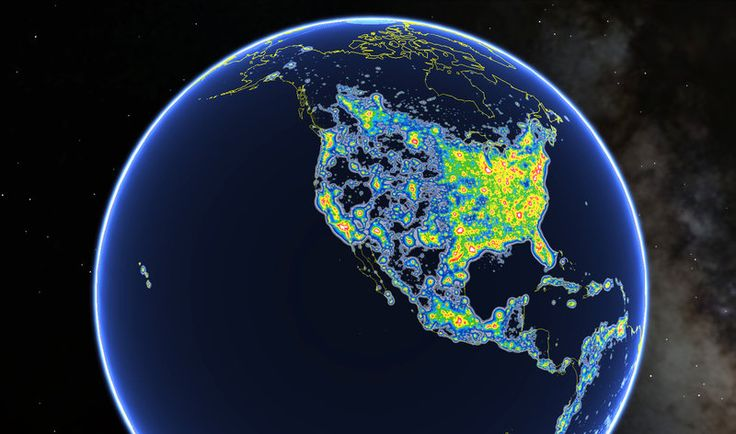 More than 99 percent of the people living in the U.S. and Europe look up and see light-polluted skies, according to a new atlas of…