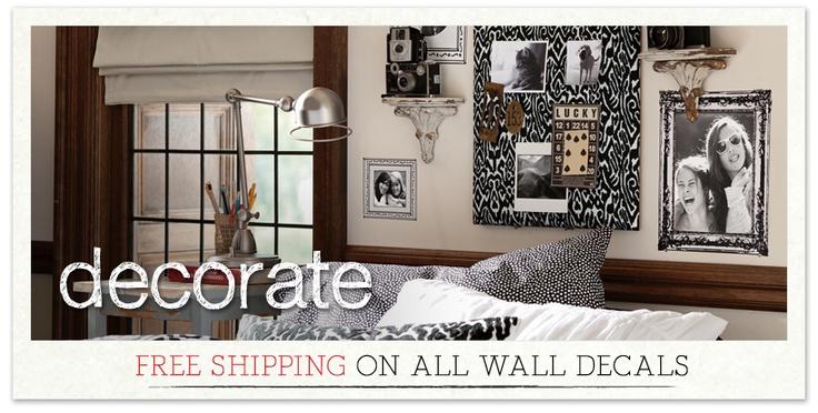 Dorm Room Decorations & College Dorm Decorations | PBteen