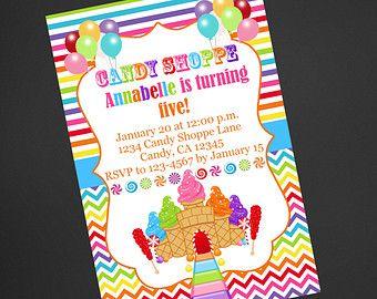Feria del Condado de cotton Candy cumpleaños por kerrimakes en Etsy