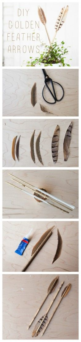DIY Wedding Arrows