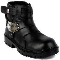 Sepatu Pria - Catenzo Safety Boot Hydra Black