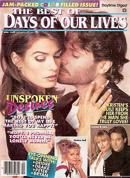4-96 Best of Days Of Our Lives KRISTIAN ALFONSO - Soap Opera World - Back Issues of Soap Opera Magazines & DVDs