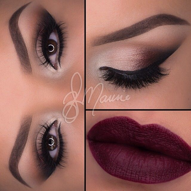 Sultry plum lip