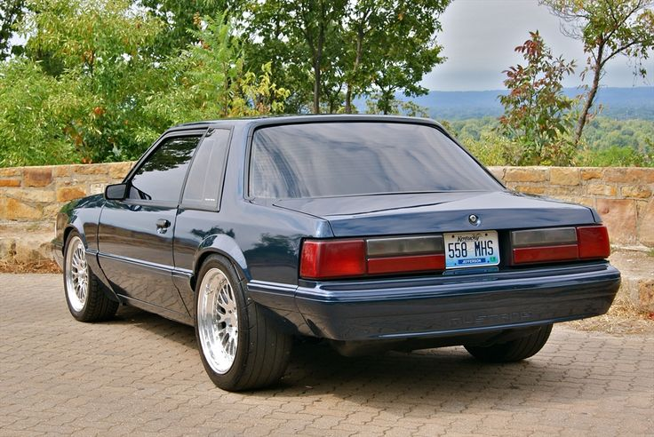 1000 Images About Ford Foxbody Mustangs On Pinterest