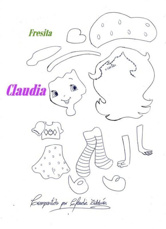 lindas manualidades: Fresita y sus amigas | goma eva | Pinterest