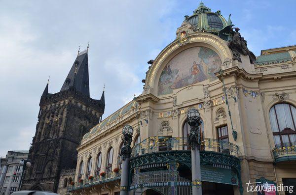 casa municipal. Praga en dos días