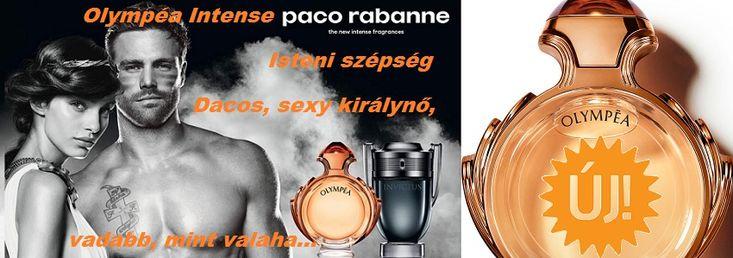 Paco Rabanne Olympea Intense női parfüm  Olympéa, Isteni szépség, Dacos, sexy királynő, vadabb, mint valaha.  http://www.parfumdivat.hu/parfumdivathazak/paco-rabanne-olympea-intense-noi-parfum.html