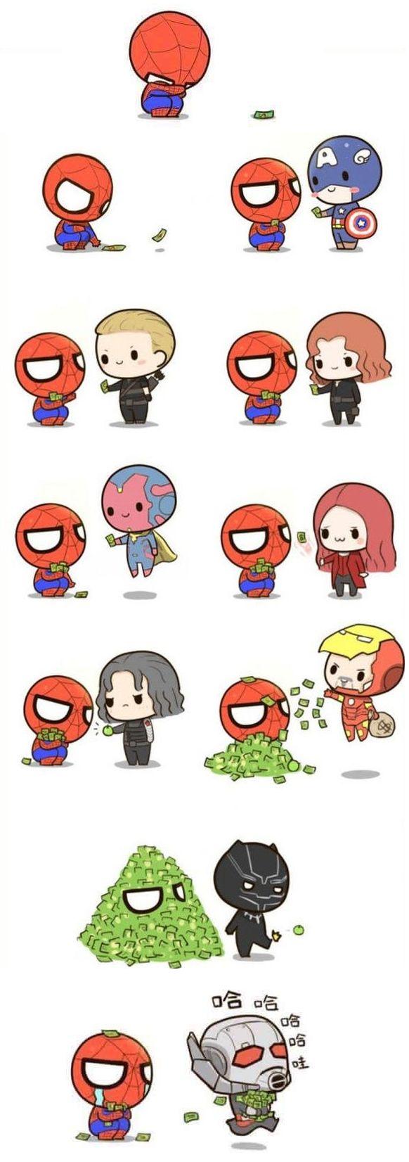 I snorted – Marvel♡