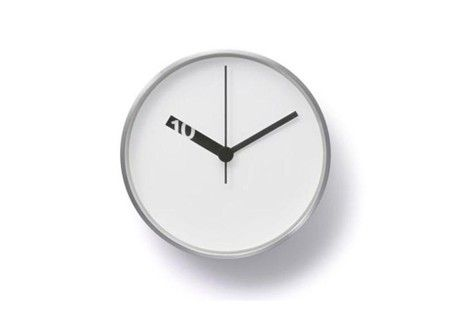 Extra Normal Wall Clock - White