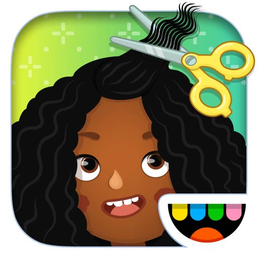 Toca Hair Salon 3 Review: Learn all about this creative app for kids here. #appsforkids #review