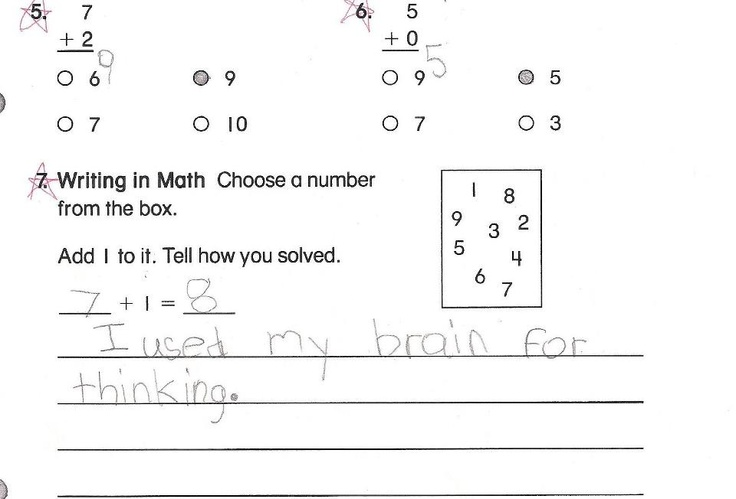 From a friend's daughter - a well thought out answer...but probably not what the teacher was looking for.