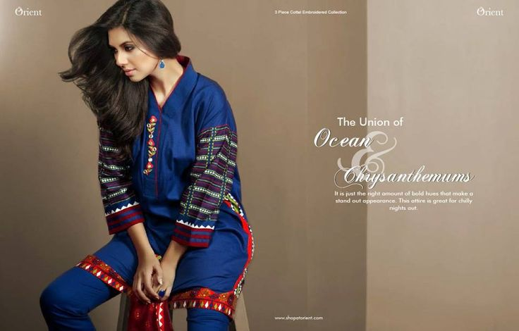 Orient Textile Winter Romanza Collection 2016-17 for Girls