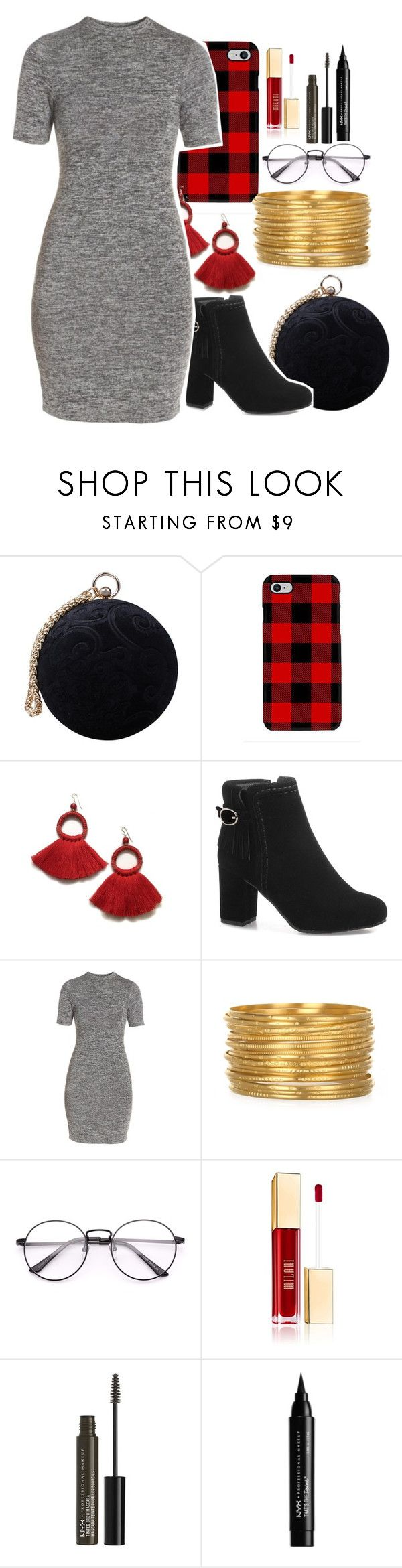 """""""accent colors"""" by hufflepuff-princess-02 ❤ liked on Polyvore featuring Carvela, Samsung, French Connection and NYX"""