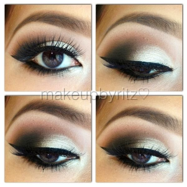 Wedding Makeup Winged Eyeliner : From how to get the perfect winged eyeliner to natural ...