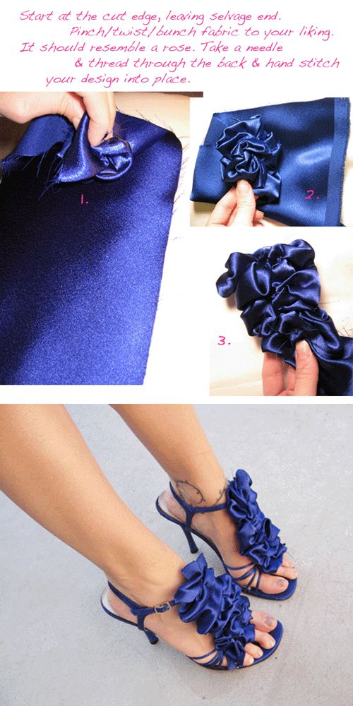 great way to #refashion scuffed shoes