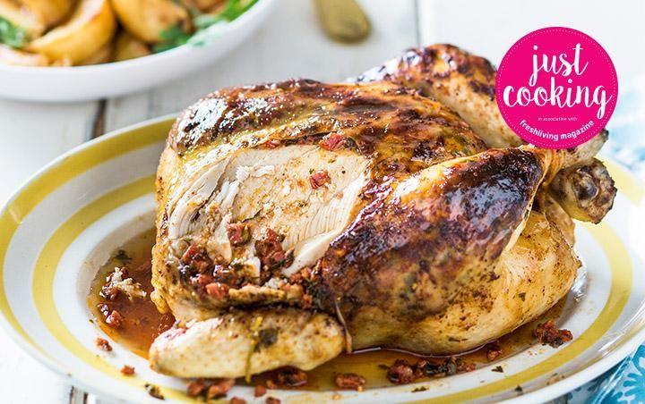Chorizo roasted chicken