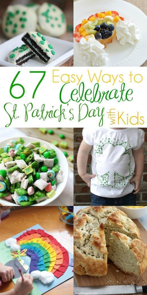 67 Easy Ways to Celebrate St. Patrick's Day With Kids Pin