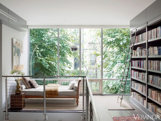 Sleek New York Brownstone by Cristina Azario.