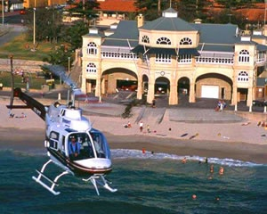 Helicopter Scenic Flight, 5-minute City Flight - Perth