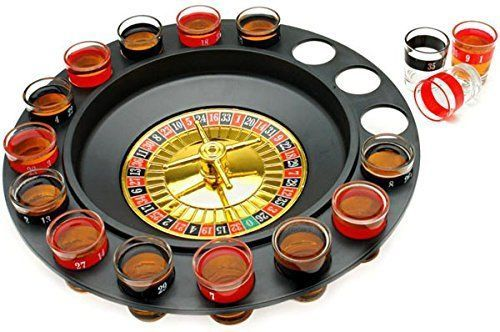 Drinking Game Roulette Fun Party Games Two 2 Player Bar For Adults Party Plannin #DrinkingGameRoulette