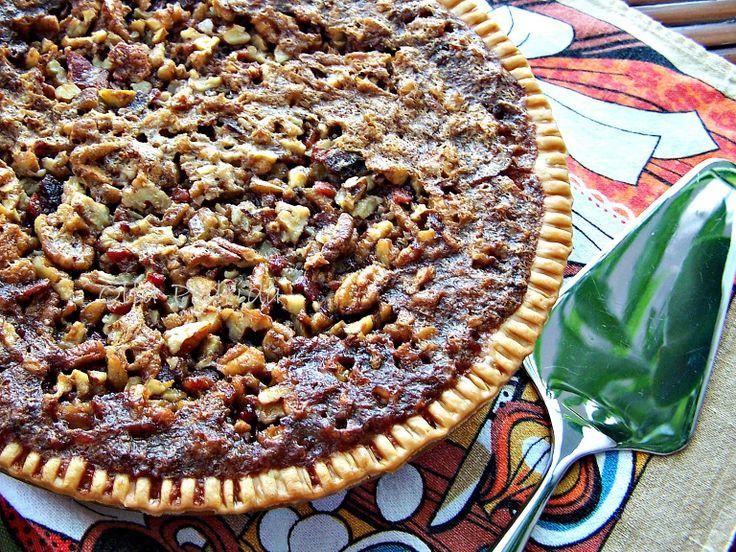 Olla-Podrida: Bourbon Bacon Pecan Pie | Sweet!! | Pinterest