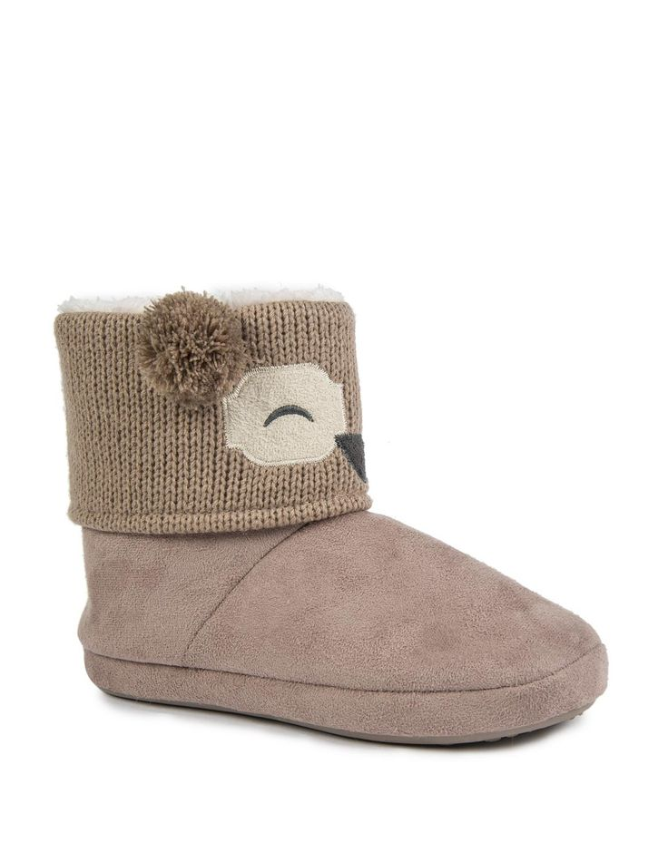 Owl Knit Boots