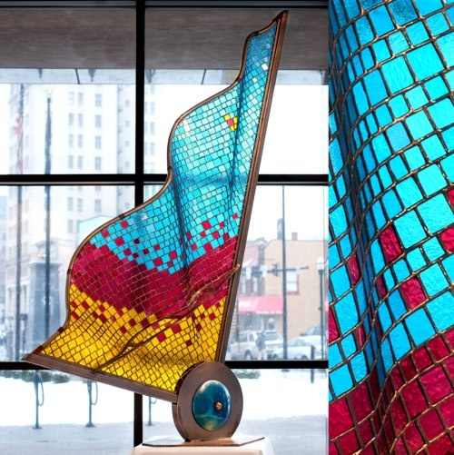 Dan Neil Barnes - glass sculpture