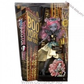05.06.17 Jucarie fetite papusa Monster High Mouscedes Kinga Mattel