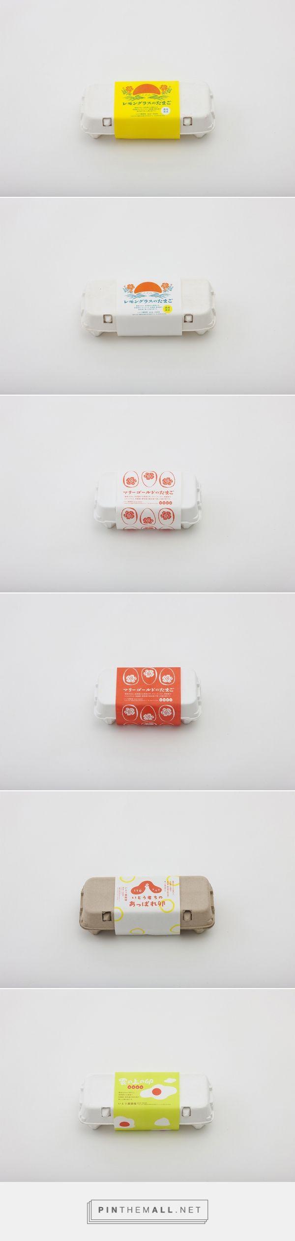 assorted egg packaging …
