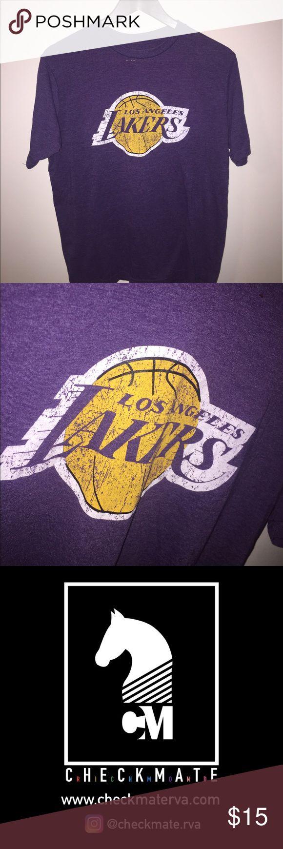 Vintage NBA LA Lakers T-Shirt Used , good condition Shirts Tees - Short Sleeve